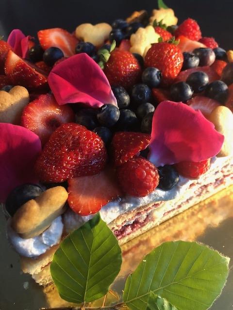 Fruchtcremetorten